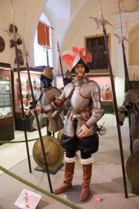 Suit of armor museum